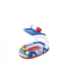 Detské nafukovacie autíčko so strieškou modré